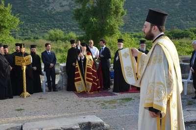 Patrik ile Aziz Yuhanna ayini Selçuk'ta yapıldı