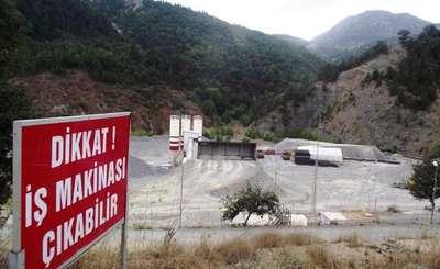 Manavgat'ta belediyeden HES şirketine 1.2 milyon lira ceza