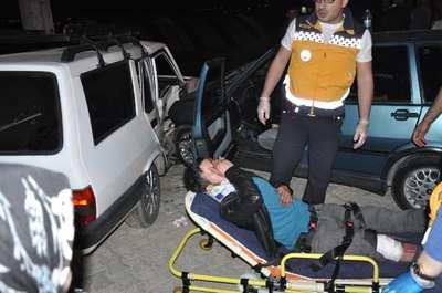 Yaralı olarak evine gidip kaza yaptığını söyledi