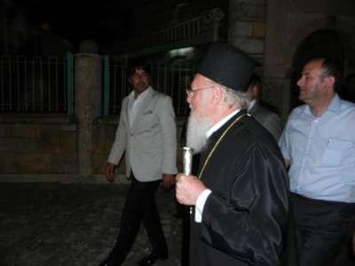 Bartholomeos, Selçuk'ta Aziz Ioannis Yortusu ayinini yönetti (2)