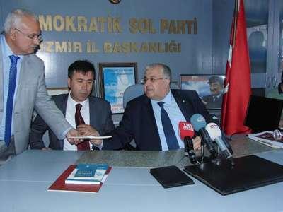 DSP Genel Başkanı Türker: 'Savaş seçimi erteletmek için olabilir'