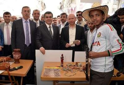 Yabancı öğrenciler kültürlerini Kayseri'de tanıttı