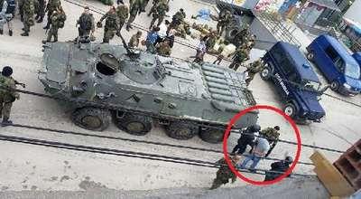 Makedonya'nın Kumanova kasabasında çıkan çatışmada 12 polis yaralandı