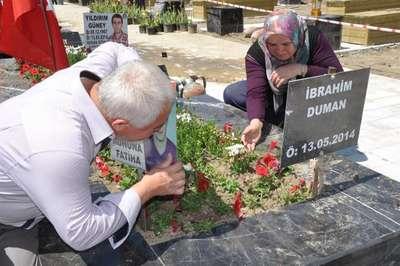 Soma'da acı Anneler Günü
