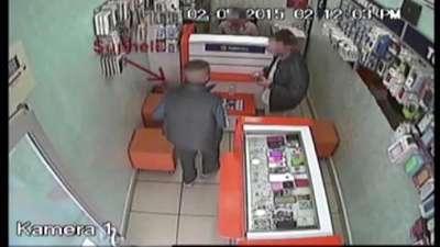 Güvenlik kamerasındaki gaspçı yakalandı