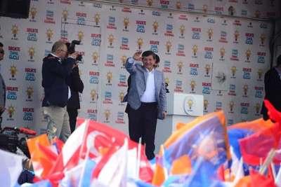Davutoğlu: İktidar olamazsam 8 Haziran'da istifa edeceğim