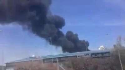 Türkiye'ye teslim edilecek uçak İspanya'da düştü (3) - EK FOTOĞRAFLAR
