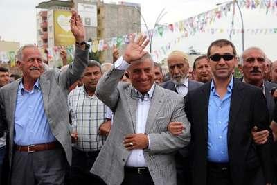 Batman'da Raman Aşireti Lideri Özdemir HDP'ye katıldı