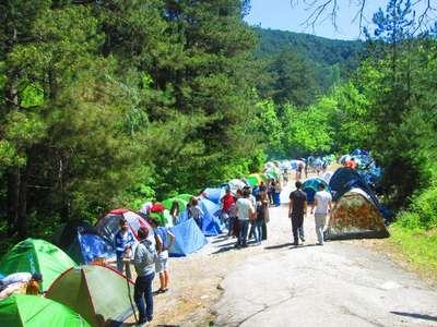 Çevreciler Kazdağları'na kamp kurdu
