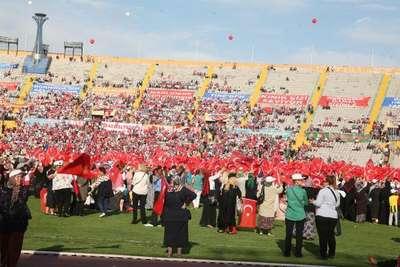 Cumhurbaşkanı Erdoğan toplu açılış törenleri için İzmir'de (2)