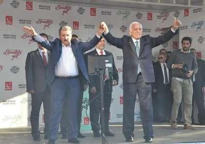 Eskişehir'de milli ittifak mitingi
