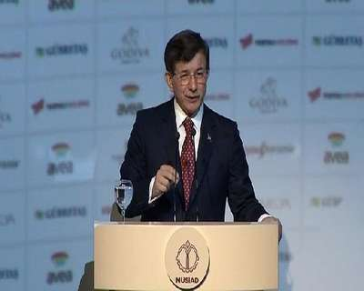 Başbakan Davutoğlu MÜSİAD'ın 25. kuruluş yıldönümü töreninde konuştu