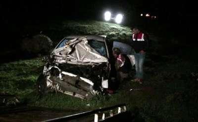 Kahramanmaraş'ta otomobil uçuruma devrildi: 2 ölü