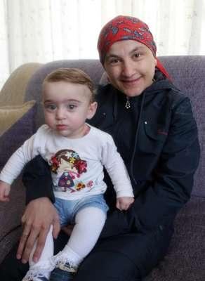 Kanser hastası anneye, bebekle gelen mucize