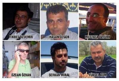 İş kazasına kurban giden 7 kişi için Milas'ta anıt