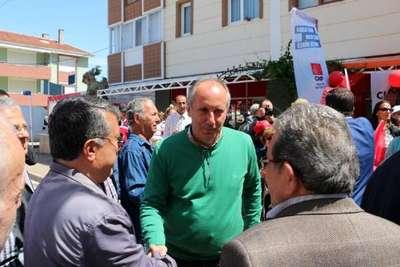 CHP'li İnce, Akdoğan'a: Dolmabahçe'de aynı sehpanın etrafında fotoğraf veren sen değil misin?