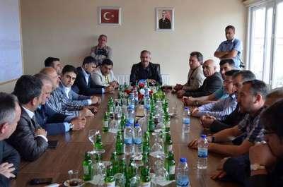 Dernek ve federasyon başkanları Adilcevaz'ı gezdi