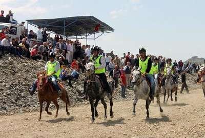 Mardin'de, Rahvan At Şampiyonası yapıldı