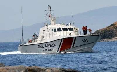 Sahil güvenlik kaçaklara hayat ışığı oldu