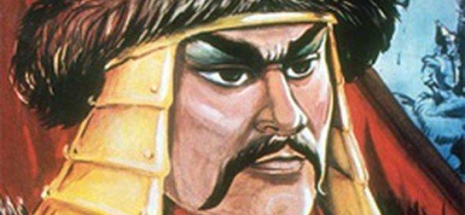 Cengiz Han'ın portresini çiğneyen adama hapis