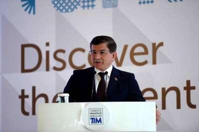 fotoğraflar//Başbakan Davutoğlu  TİM toplantısında konuştu