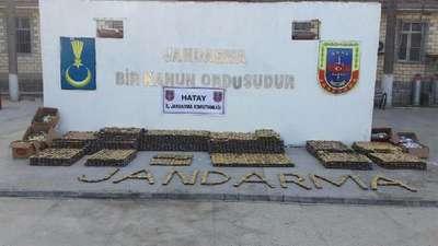 Hatay'da 831 bin uyuşturucu hap ele geçirildi
