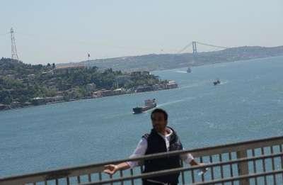 Fotoğraflar// FSM Köprüsünde intihar girişimi