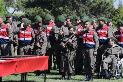 Nevşehir'de engellilerin askerlik gururu