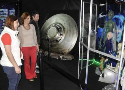 İzmit'te UFO sergisi meraklıları ile buluşuyor