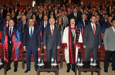 Cumhuriyet Üniversitesi'nde akademik yükselme töreni