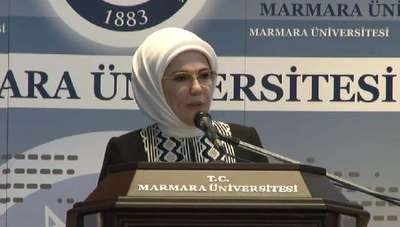 """Emine Erdoğan  """"Sağlıklı yaşam, doğal ve dengeli beslenmeye dayanmakta"""""""