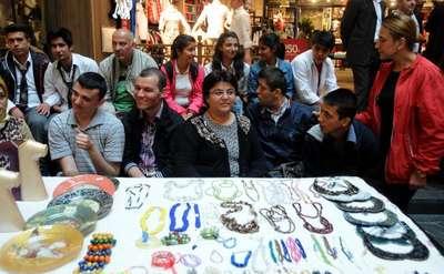 Gaziantep'te engelli öğrenciler kermes açtı