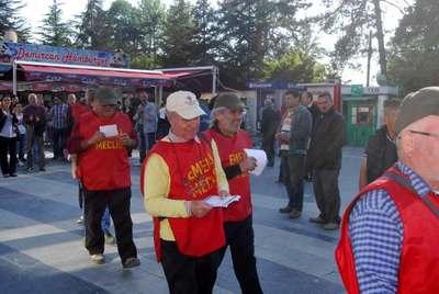 Emekliler Ankara yolunda