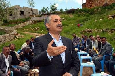 HDP'nin müftü adayı havaya ateş edilerek karşılandı
