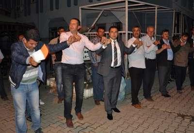 İslahiye Belediyesi işçileri moral gecesinde eğlendi