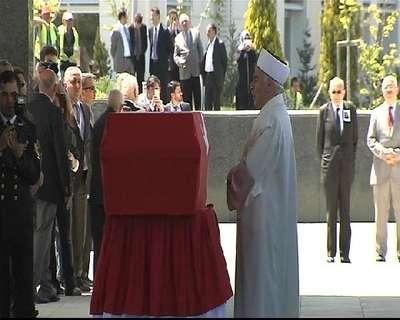 Evren'in cenazesi Genelkurmay Başkanlığı'nda (3)
