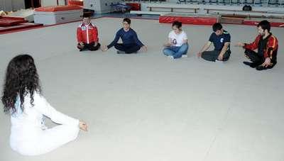 Engellilere yoga terapisi