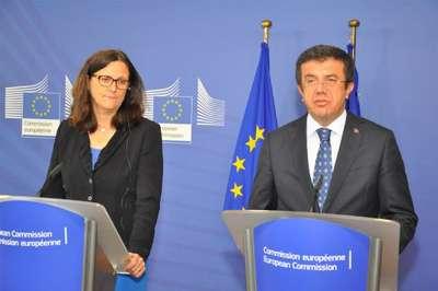 AB - Türkiye arasındaki Gümrük Birliği Anlaşması'nın güncellenmesi için ilk adım atıldı
