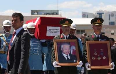 Evren'in cenazesi Genelkurmay Başkanlığı'nda- Fotoğraflar