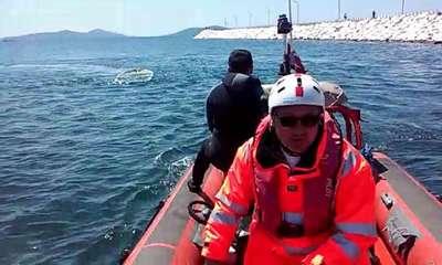 Bostancı açıklarında tekne battı: 1 kayıp (2)