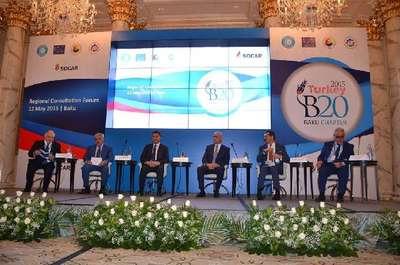 Azerbaycan'da B20 Bölgesel Danışma Toplantısı düzenlendi