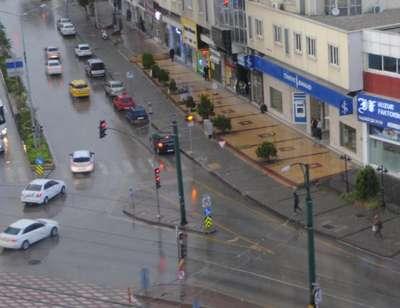 Gaziantep'te yağmur ve dolu etkili oldu