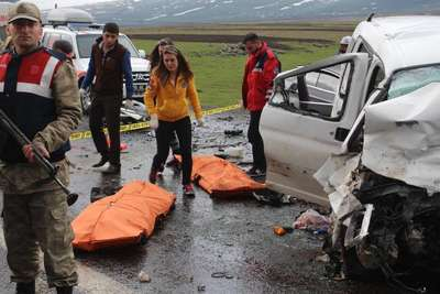 Kars- Ardahan karayolunda kaza: 6 ölü -  ek fotoğraf