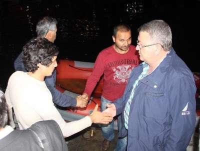 Libya'da vurulan geminin 3. kaptanının cenazesi Fethiye'de (4)