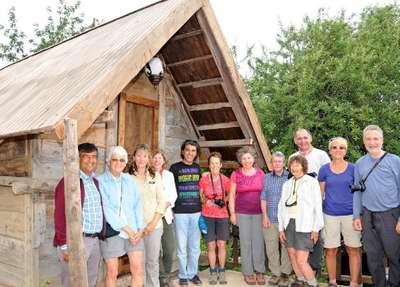 Asırlık taş evlerde tatil