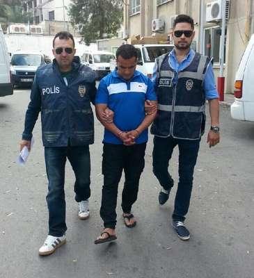 Cezayirli cinayet şüphelisi yakalandı