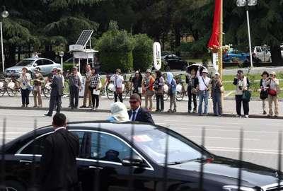 Cumhurbaşkanı Erdoğan Arnavutluk'ta resmi törenle karşılandı (3)