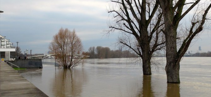2 şehir alarma geçti: Ren Nehri 9 metre yükseldi