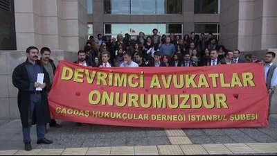 ÇHD'li avukatlardan duruşma sırasında açıklama