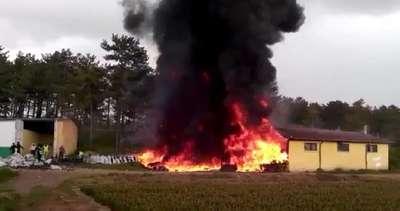 Orman İşletme Müdürlüğü'nde yangın paniği